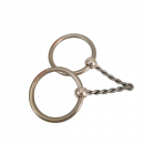 Loose Ring medium twisted Snaffle