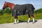 """""""TOUGH HORSE"""" - Regendecke - 1200D - atmungsaktiv- Schwarz"""