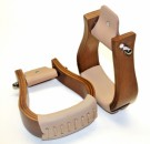 Holzbügel - Standard - lackiert - Flat Bottom 1 1/2 ''