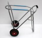 Sattel Caddy mit Luftrad