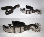 Sporen – Black Steel mit Silver Typ 7