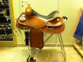 GARLAND REINING SADDLE BIG BUTTERFLY