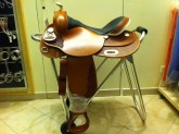 WHITE STAR REINING SADDLE