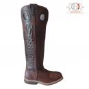 Hanton Cavalier Boots Croco
