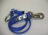 Anbindegurt, 70 cm, blau