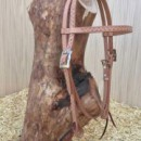 Headstall with straight browband