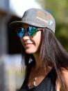 Fappani Womens Gray Hat