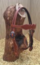 Browband Headstall mit Basket Tooling