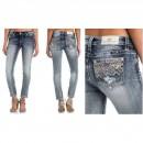 Miss Me Skinny Jeans Cuffed Ankle Skinny