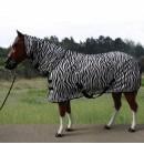 Zebra Design Fliegendecke m. Halsteil