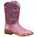 Mädchen Cowboystiefel Pink