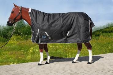 """""""TOUGH HORSE"""" - Regendecke - Half Neck - MIT Unterdecke (100gr.) -1680D"""