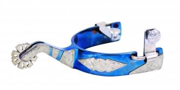 """FG Spur"" - Poinsettia Spur - Blued"