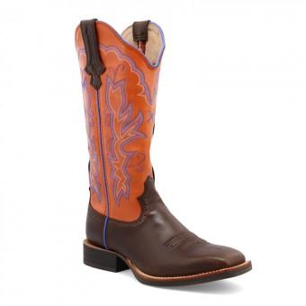 Cowboystiefel Twisted X Women's Ruff Stock orange