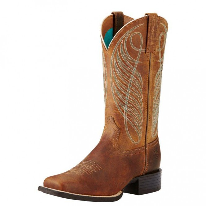 ARIAT Woman´s Round Up Wide Square Toe