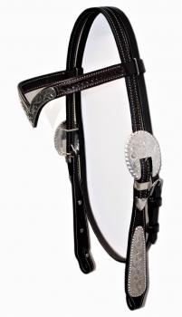 Show-Kopfstück - mit V-Stirnband