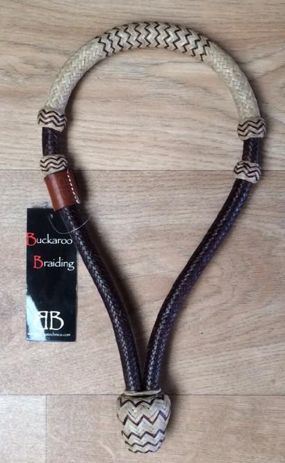 Rawhide braided bosal II 5/8