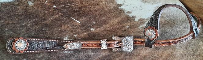 Doppelohr Showkopfstück Copper