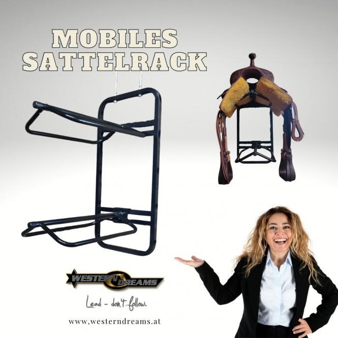 Mobiles Sattelrack für 2 Sättel