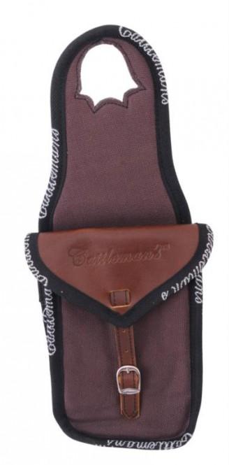 Satteltasche Single Horn Bag Canvas