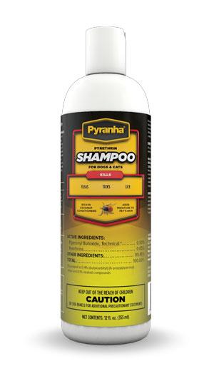 Pyranha® Pyrethrin Shampoo™